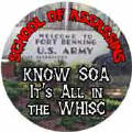 School of Assassins - Know SOA - It's All in the WHISC (Fort Benning) - SOA COFFEE MUG