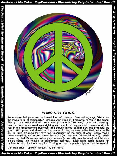 Free Peace Sign Poster - Psychedelic Peace Sign