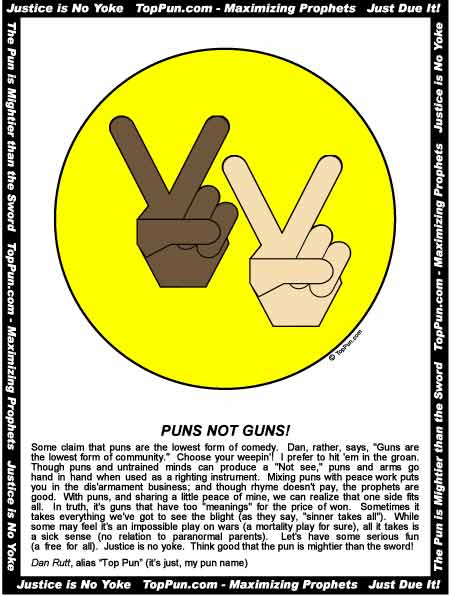 Free Peace Sign Poster - Black and White Peace Hands