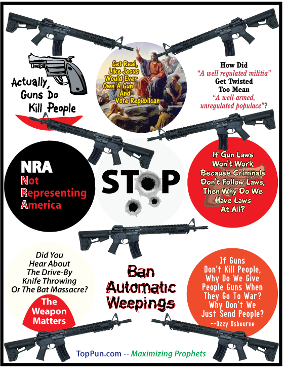 FREE Anti GUN VIOLENCE POSTER