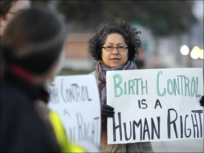 Birth Control is a Human Right - Toledo Protest