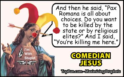 Comedian Jesus Pax Romana Killing Me