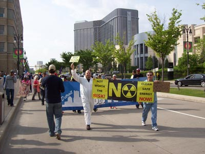 Detroit Edison Shareholder Protest