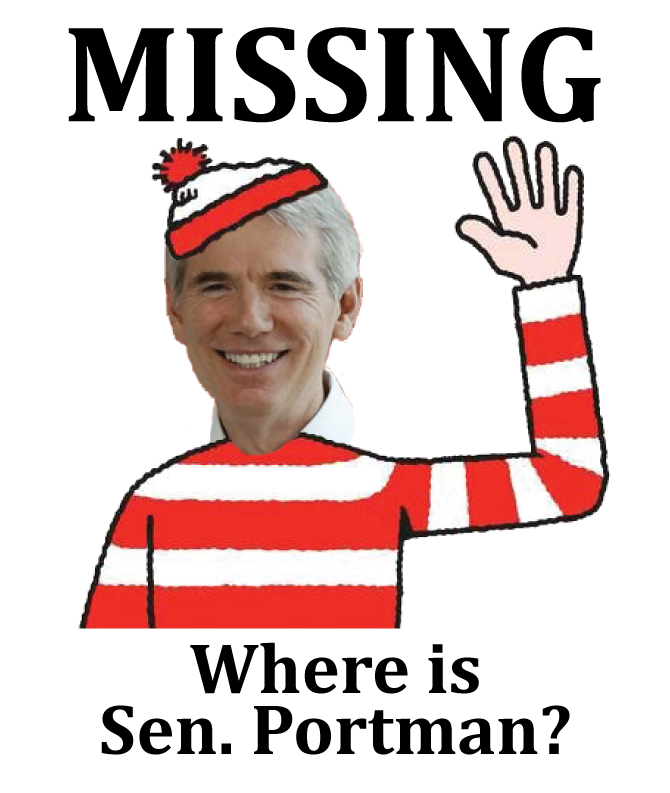 MISSING: Where is Senator Portman?