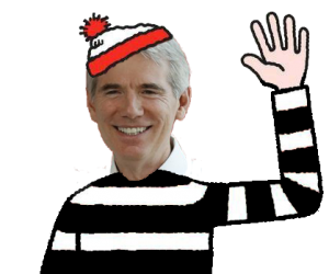 Senator Robert WALDO Portman in Prison Stripes